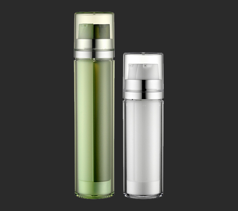 Wholesale colorful lotion pump bottle with double pump head