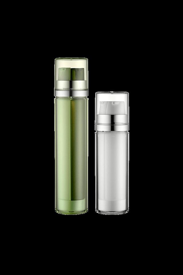 Wholesale colorful lotion pump bottle with double pump head