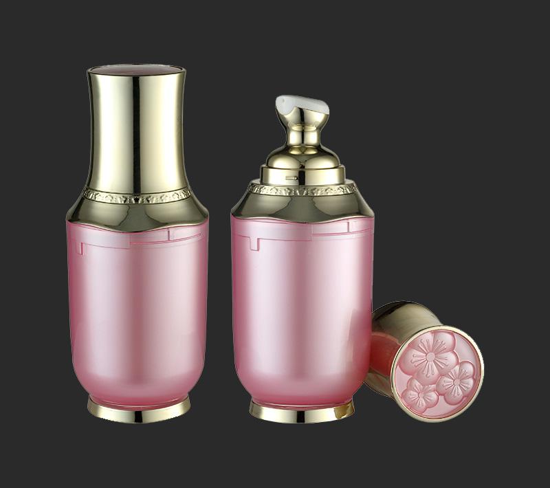 30ml Round bottom round shoulder airless lotion bottle