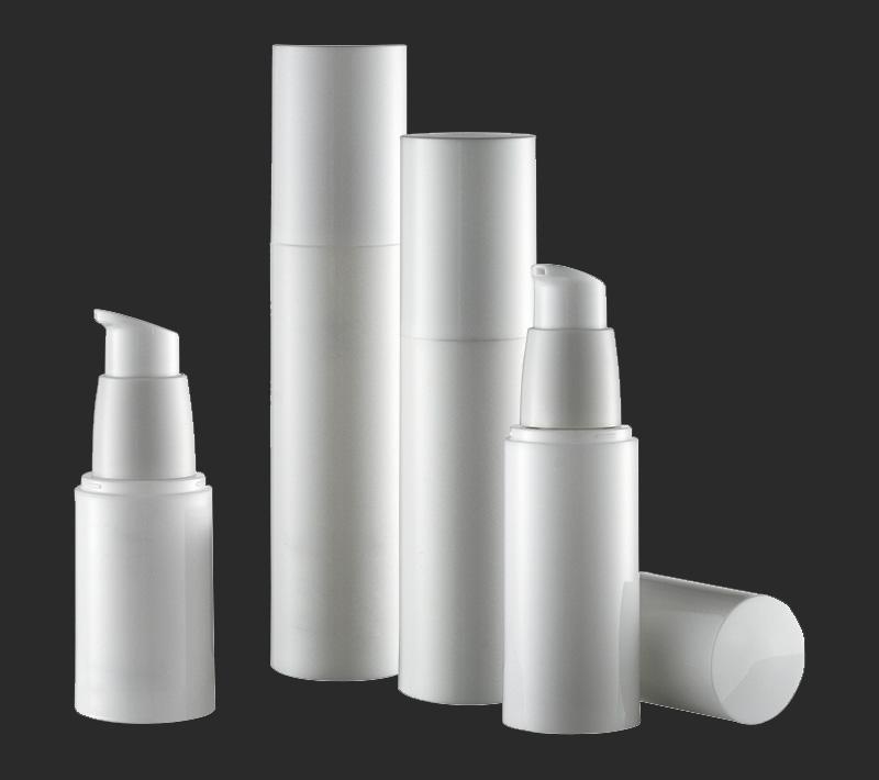 sample lotion cream airless bottle