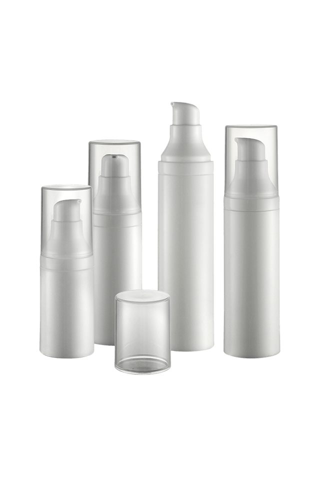 spray airless bottle round bottom cosmetic bottle