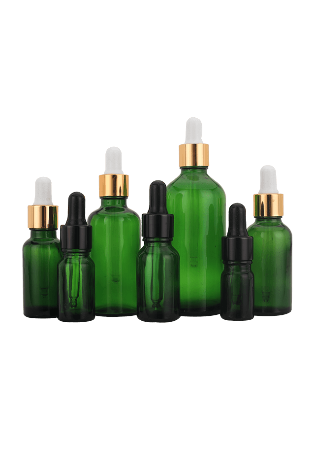 Hot Sale Luxury 10Ml 50Ml Cosmetic Amber Glass Essential Oil Bottle With Dropper