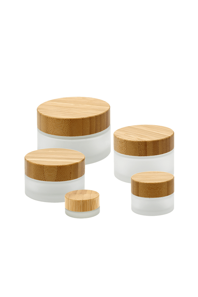 JZ Bamboo Cover Cream Bottle