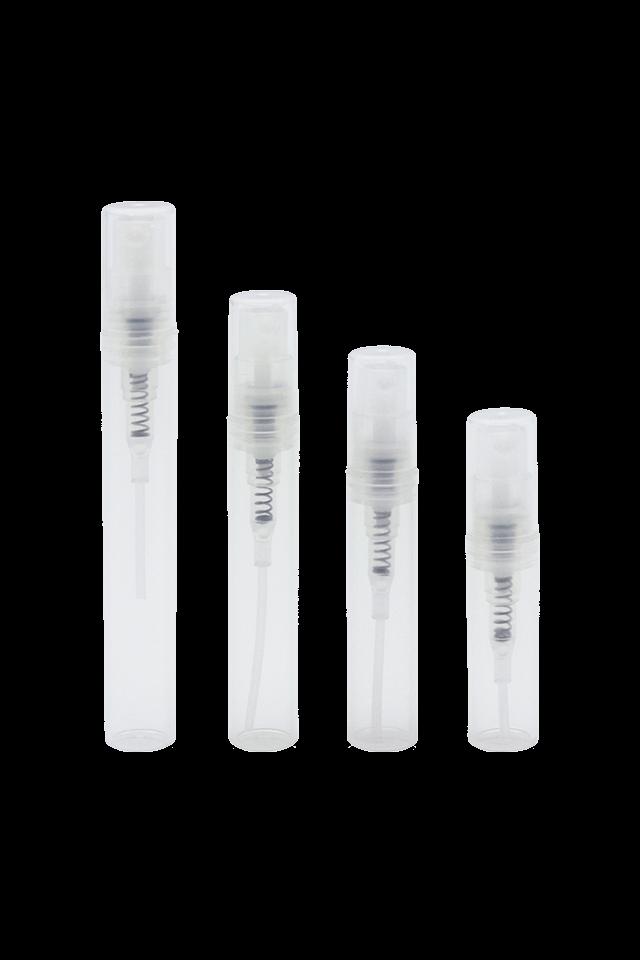 Mini 2ml 3ml 4ml 5ml plastic perfume atomiser sprayer pen atomiser bottle